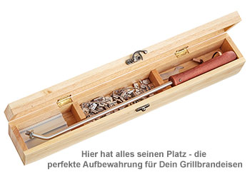 Grillbrandeisen - Grillkönig Opa - 3