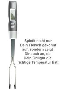 Grillthermometer - Elektronische Grillgabel - 2