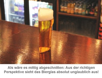 Halbes Bier - Half Pint Bierglas - 2