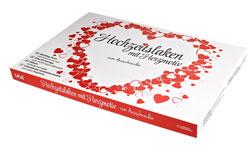 Hochzeitslaken Herzmotiv - zum Ausschneiden - 3