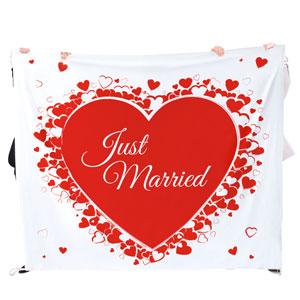 Hochzeitslaken Herzmotiv - zum Ausschneiden - 4
