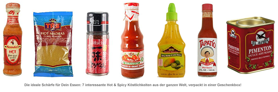 Hot and Spicy Geschenkbox - Spice Up Your Life - 2