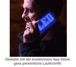 iPhone 6/6S Hülle mit programmierbarer LED Laufschrift - 2