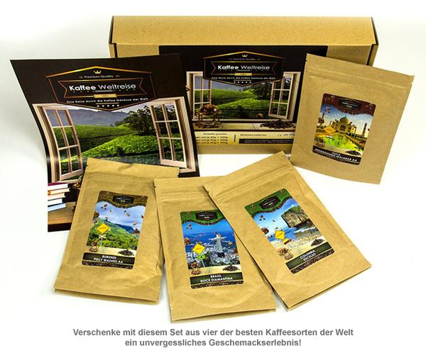 Kaffee Weltreise Geschenkbox - 3
