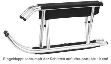 Klappschlitten - Luxus Rodel - 3