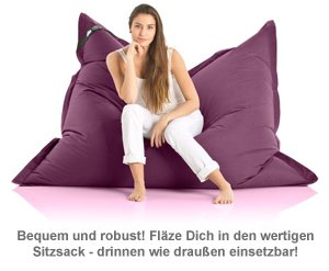 Komfort Sitzsack XXL - 12 Farben - 2