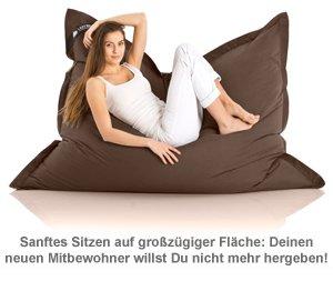 Komfort Sitzsack XXL - 12 Farben - 5