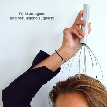 Kopfmassagegerät mit Vibration - 3