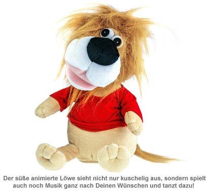 Kuscheltier Löwe - animiert mit Lautsprecher - 3