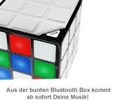 LED Lautsprecher Würfel - 2