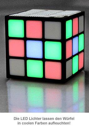 LED Lautsprecher Würfel - 3