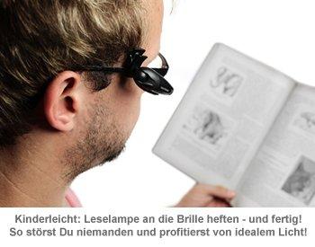 LED Leselampe für die Brille - 2