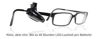 LED Leselampe für die Brille - 3