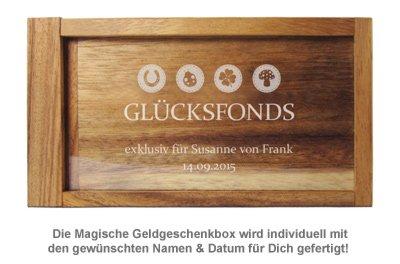 Magische Geldgeschenkbox - Glücksfonds - 4