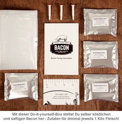 Make Your Own Bacon - Geschenkbox - 2
