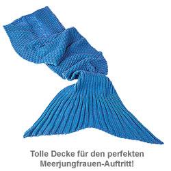 Meerjungfrau Decke für Kinder - 2