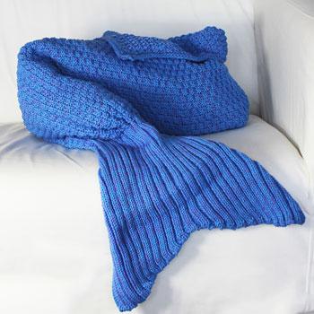 Meerjungfrau Decke für Kinder - 3