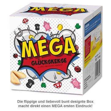 MEGA Glückskekse Geschenkbox - 3