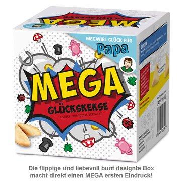 MEGA Glückskekse Geschenkbox für Papa - 3
