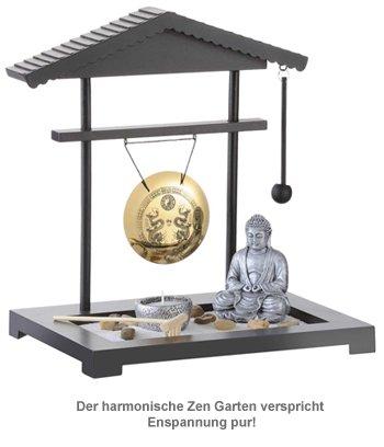 Mini Zen Garten - Gong - 2