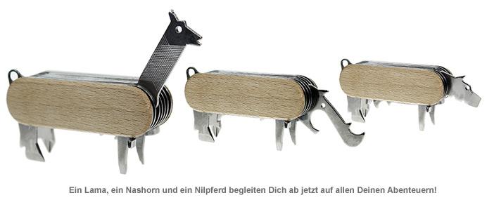 Multifunktionswerkzeug 7in1 - Tiere - 2