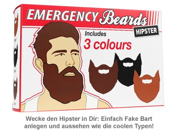 Notfall Hipster Bärte - 3