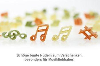 Pasta Musica - 250 g bunte Nudeln - 2