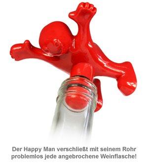 Penis Flaschenverschluss - Happy Man - 2