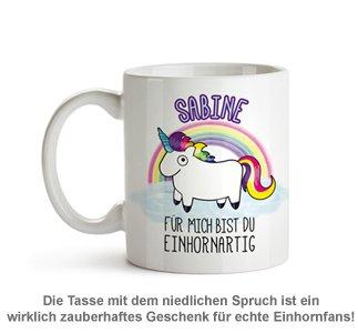 Personalisierte Einhorn Tasse - 2