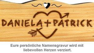Personalisierte Schnapsbank für Paare - 3