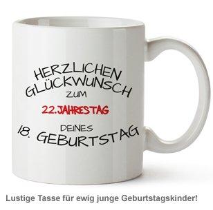 Personalisierte Tasse - Geburtstagsjahrestag - 2