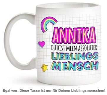 Personalisierte Tasse - Lieblingsmensch - 2
