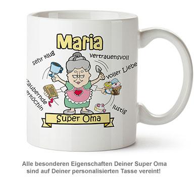 Personalisierte Tasse - Super Oma - 2