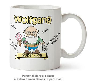 Personalisierte Tasse - Super Opa - 2