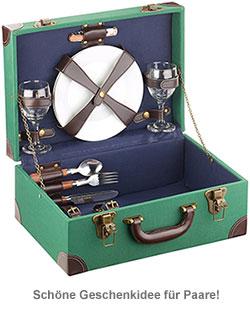 Picknick Koffer 11-teilig für 2 Personen - 4
