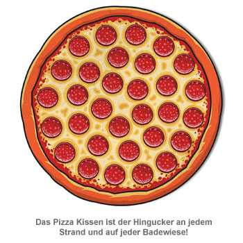 Pizza Handtuch - 2