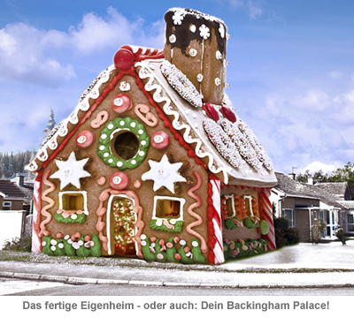 Riesen Lebkuchenhaus - Eigenheim zum Selberbacken - 7