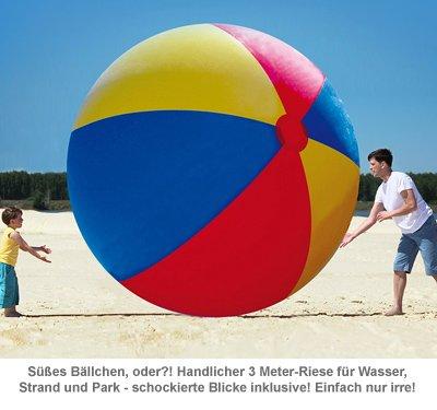 Riesen Wasserball - 3 Meter Gigant - 2