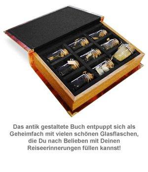 Schatztruhe im Buchformat - Travel Treasures - 2