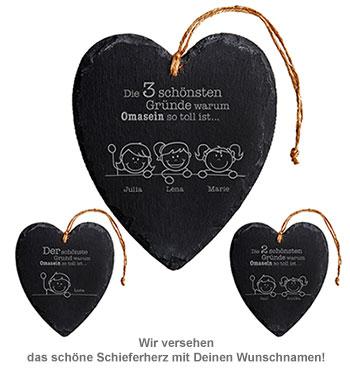 Schieferherz - Warum Omasein so toll ist - 2