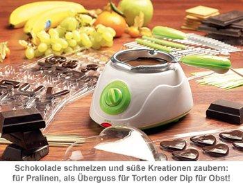 Schokolade schmelzen - Schokofondue Set - 2