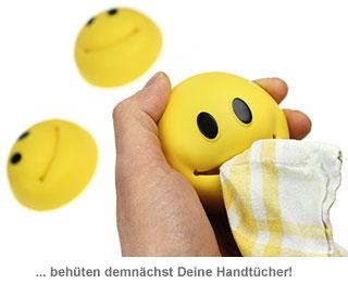 Smiley Handtuchhalter - 3