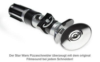 Star Wars Lichtschwert - Pizzaschneider mit Sound - 2
