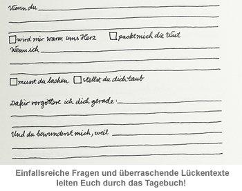 Tagebuch für Paare - zum Ankreuzen und Ausfüllen - 2