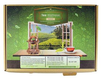 Tee Weltreise Geschenkbox - 5