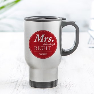 Thermobecher Set personalisiert - Mr and Mrs Right - 4