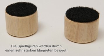 Tischkicker mit Magneten - 3