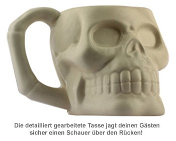 Totenkopf Tasse - 4