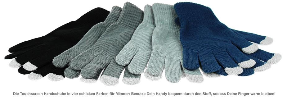 Touchscreen Handschuhe für Männer - 2