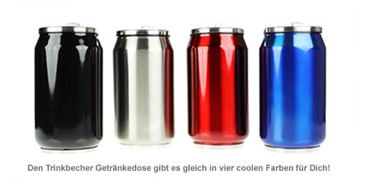 Trinkbecher Getränkedose - 2